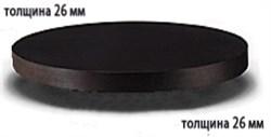 Столешница ДСП+пластик+кромка ПВХ диаметр 1000х26 - фото 4253