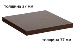 Столешница ДСП+пластик+кромка ПВХ 800х800х37 - фото 4256