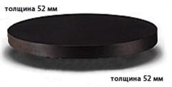 Столешница ДСП+пластик+кромка ПВХ диаметр 600х52 - фото 4334