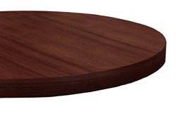 Столешница диаметр 600 из массива бука, толщина 40 мм - фото 4195