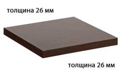 Столешница ДСП+пластик+кромка ПВХ 600х600х26 - фото 4240