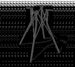 Подстолье металлическое 1717 - фото 5280