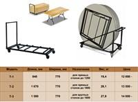 Тележки для складных столов